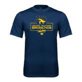 Performance Navy Tee-Bronchos Wrestling