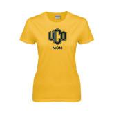 Ladies Gold T Shirt-UCO MOM