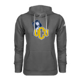 Adidas Climawarm Charcoal Team Issue Hoodie-UCO with Mascot