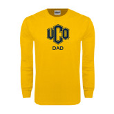 Gold Long Sleeve T Shirt-UCO DAD
