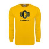 Gold Long Sleeve T Shirt-UCO Grandpa