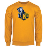 Gold Fleece Crew-UCO with Mascot