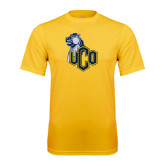 Performance Gold Tee-UCO with Mascot