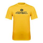 Performance Gold Tee-Central Oklahoma Football