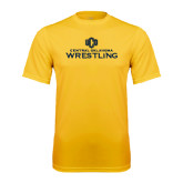 Performance Gold Tee-Central Oklahoma Wrestling