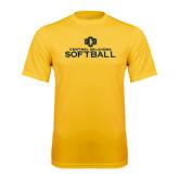 Performance Gold Tee-Central Oklahoma Softball