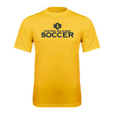 Performance Gold Tee-Central Oklahoma Soccer