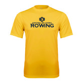 Performance Gold Tee-Central Oklahoma Rowing