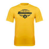 Performance Gold Tee-Bronchos Football