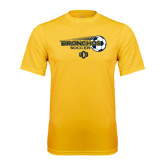Performance Gold Tee-Bronchos Soccer