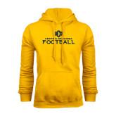 Gold Fleece Hoodie-Central Oklahoma Football