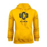 Gold Fleece Hoodie-UCO Alumni