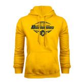 Gold Fleece Hoodie-Bronchos Football