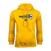 Gold Fleece Hoodie-Bronchos Soccer