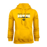 Gold Fleece Hoodie-Central Oklahoma Rowing