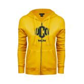 ENZA Ladies Gold Fleece Full Zip Hoodie-UCO MOM