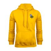 Gold Fleece Hoodie-UCO with Mascot
