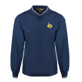 Navy Executive Windshirt-UCO with Mascot