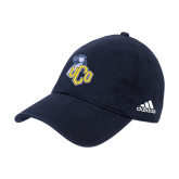 Adidas Navy Slouch Unstructured Low Profile Hat-UCO with Mascot