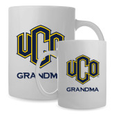 Full Color White Mug 15oz-UCO Grandma