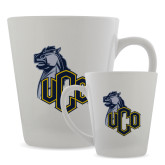 Full Color Latte Mug 12oz-UCO with Mascot
