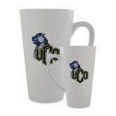 Full Color Latte Mug 17oz-UCO with Mascot
