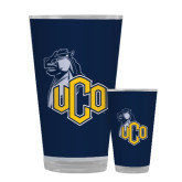 Full Color Glass 17oz-UCO with Mascot
