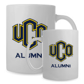 Alumni Full Color White Mug 15oz-UCO Alumni