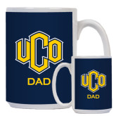 Dad Full Color White Mug 15oz-UCO DAD
