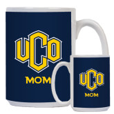 Mom Full Color White Mug 15oz-UCO MOM
