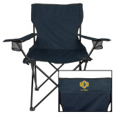 Deluxe Navy Captains Chair-UCO Alumni