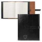 Fabrizio Black Portfolio w/Loop Closure-HC Shield Engraved