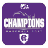 Large Decal-2017 Patriot League Mens Champions Baseball