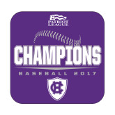 Small Decal-2017 Patriot League Mens Champions Baseball