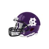 Riddell Replica Purple Mini Helmet-Interlocking HC