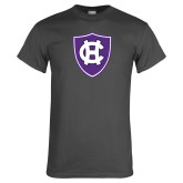 Charcoal T Shirt-HC Shield