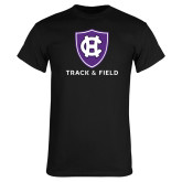 Black T Shirt-Holy Cross Track and Field