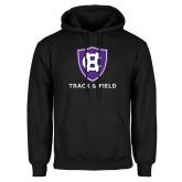 Black Fleece Hoodie-Holy Cross Track and Field