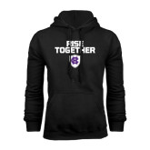 Black Fleece Hoodie-Rise Together