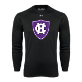 Under Armour Black Long Sleeve Tech Tee-HC Shield