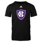 Adidas Black Logo T Shirt-HC Shield