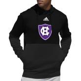 Adidas Black Team Issue Hoodie-HC Shield