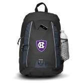 Impulse Black Backpack-HC Shield
