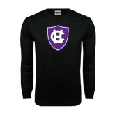 Black Long Sleeve TShirt-HC Shield