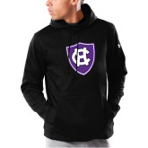 Under Armour Black Armour Fleece Hoodie-HC Shield