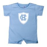 Light Blue Infant Romper-HC Shield