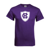 Purple T Shirt-HC Shield