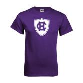 Purple T Shirt-HC Shield