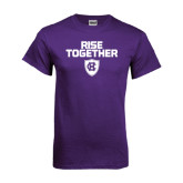 Purple T Shirt-Rise Together