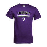 Purple T Shirt-Rowing Design